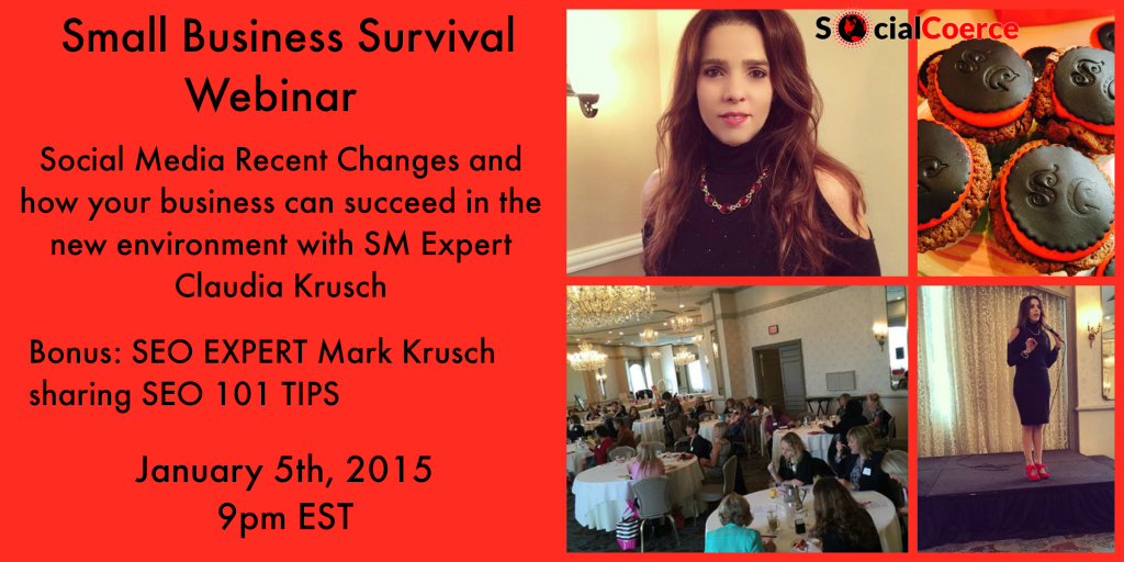 Small Business Survival Webinar